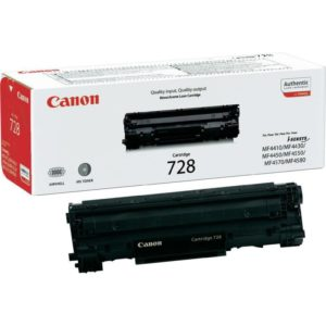 CANON CRG728 BLACK TONER CARTRIDGE