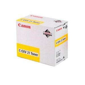 CANON CEXV21Y YELLOW TONER CARTRIDGE