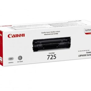 CANON CRG725 BLACK TONER CARTRIDGE