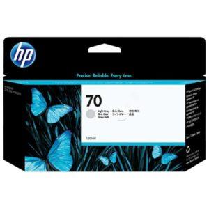 Cartus inkjet HP 70 DESIGNJET light gray C9451A, 130 ml, HP DesignJet SD P