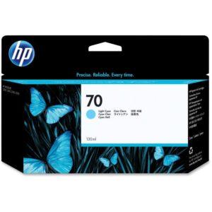 HP 70 DESIGNJET  LIGHT CYAN C9390A