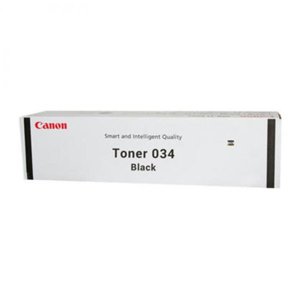CANON 034B BLACK TONER CARTRIDGE
